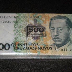 100dbsorszamkoveto-brazil-500-cruz-unc-bankjegy-koteg-ritka