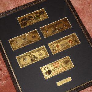 1800-as-antik-24-kt-arany-usa-dollar-amerika-bankjegy-szett