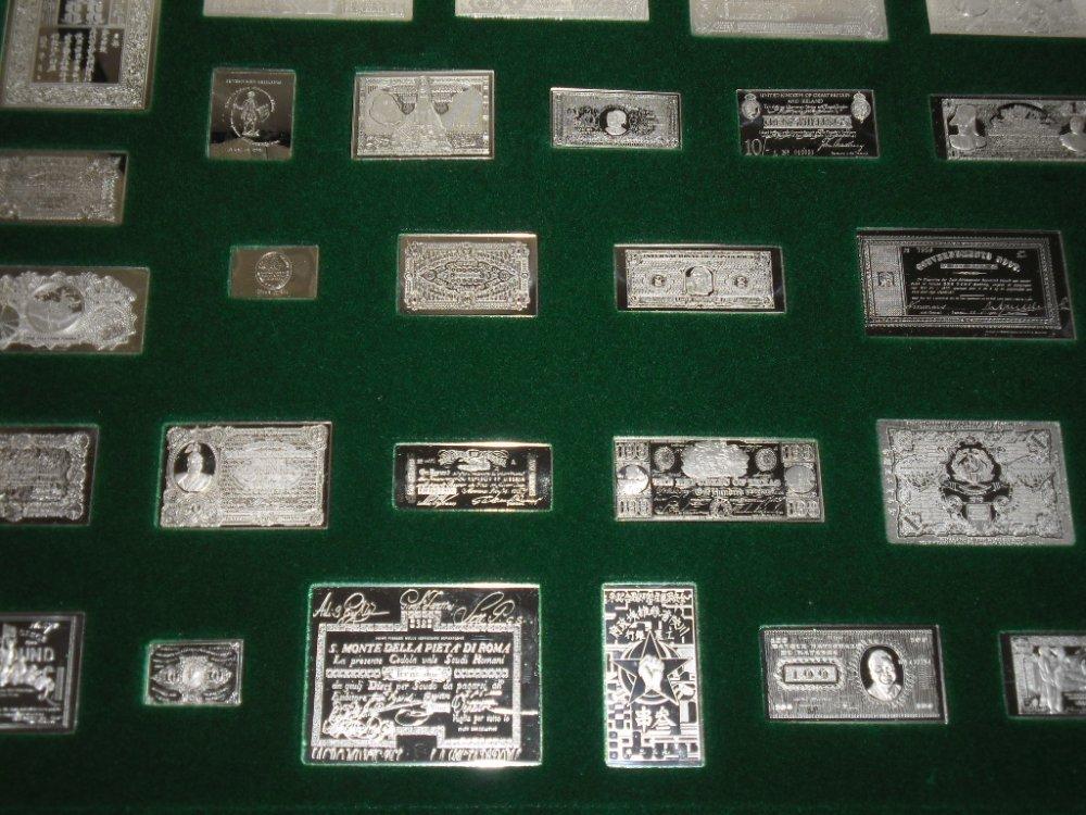 EZÜST 1690-1946 BANKJEGYVERET, RITKA BANKJEGY GYŰJTEMÉNY