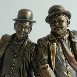 laurelamphardy-ritka-porcelan-bronz-mozi-szoborajandek