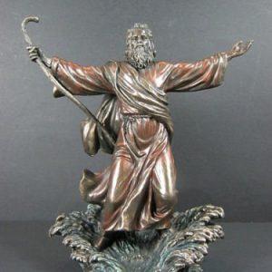 michelangelomozesferenc-papa3-porcelan-bronz-szobor