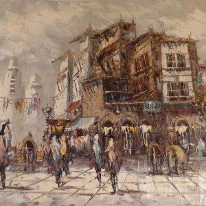regi-eredeti-parizs-eletkep-festmeny-130-cm-szignalt