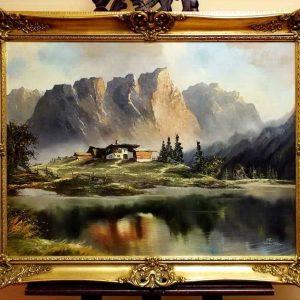 3.sz.tétel Valósághű alpesi táj 1)